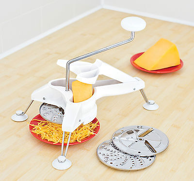 Judge Grate To Plate Cheese Fruit Vegetable Grater 3 Blades - TC287