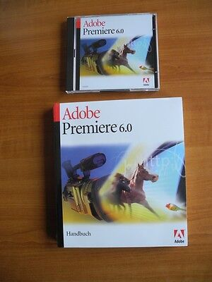 Adobe Premiere 6.0 Windows DVD, Deutsch