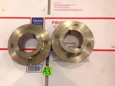 """New Lot Of 2 """"Dodge"""" Poly Disc 5-1/4H 1615 Bushing AM Flange Coupling"""