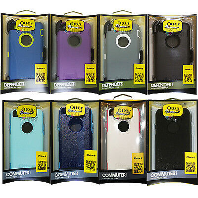 "100% Genuine Otterbox Defender & Commuter Case Cover For 4.7"" Apple iPhone 6S 6"