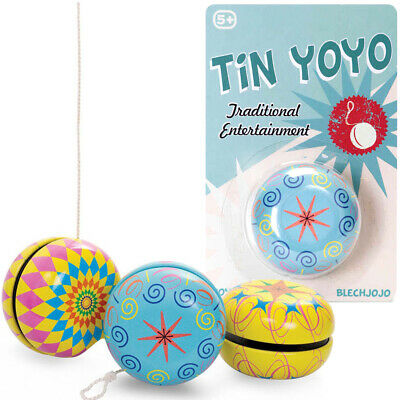 Wooden Yoyo Retro Classic Traditional Toy Boys Girls Birthday Party Bag Filler