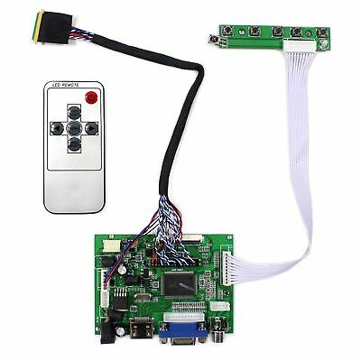HDMI VGA 2AV LCD driver board with remote work for LED CCFL Backlight lcd panel