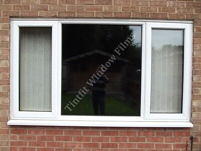 TOTAL BLACKOUT 50cm x 1m PRIVACY WINDOW TINTING TINT FILM