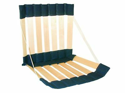 Ergolife Stol Portable Roll-Up Chair Back Support Festival, Concerts, Picnics,