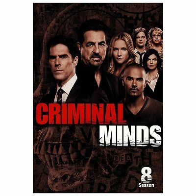 Criminal Minds ~ Complete 8th Eighth Season 8 Eight ~ BRAND NEW 6-DISC DVD SET