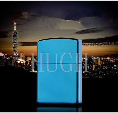 New Cool Portable USB Electronic Rechargeable Blue Ice Windproof Cigar Lighter