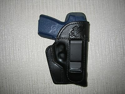 KAHR PM9 & CM9, iwb, right hand FORMED holster WITH SWEAT SHIELD