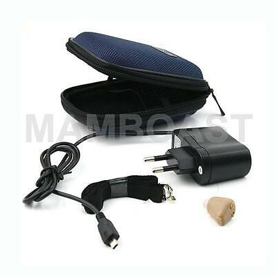 Mini K-88 Rechargeable Digital In Ear Hearing Aid Adjustable Sound Amplifier