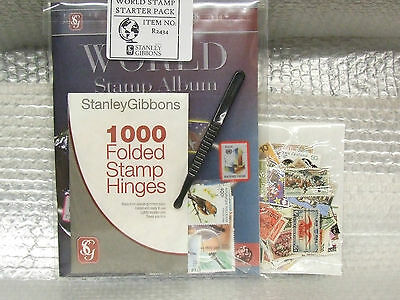 Stanley Gibbons -  World Stamp Album Starter Pack - Ideal  Present