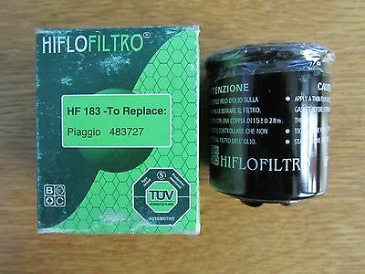 Hiflo Oil Filter Hf183 Fits Adiva Aprilia Benelli Derby Gilera See Description