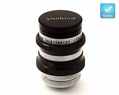 YASHICA YASHINON D MOUNT 13mm f1.4 EXCELLENT QUALITY LENS