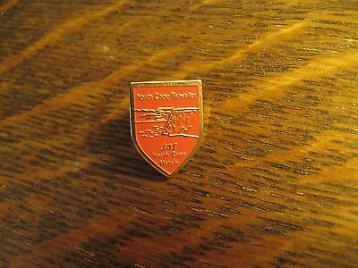 SAS North Cape Hotels Scandinavian Airlines Norway Traveller Gold Lapel Hat Pin