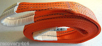 5M 4X4 Recovery Winch Tow Strap/towing Rope Tree Strops 5 Ton Land Rover Warn