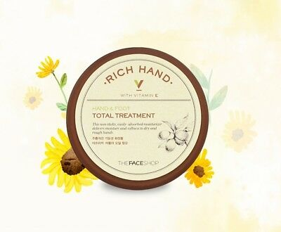 [THE FACE SHOP] Rich Hand -Hand & Foot Total Treatment  / 110ml