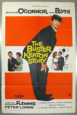 The Buster Keaton Story - Donald O'connor - Original American 1Sht Movie Poster