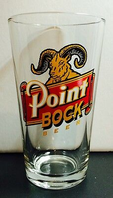 Point Bock Pint Beer Glass