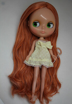 """12"""" Neo Blythe Doll Tanned Skin Factory Nude Doll from Factory XZ001"""