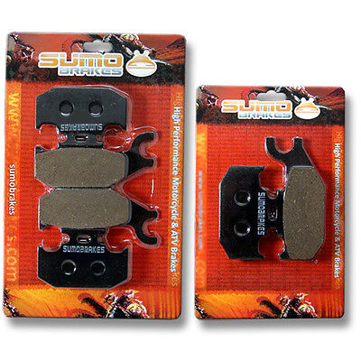 Can Am Front Rear Brake Pads DS650 X (07-11) Renegade Outlander 400 500 650 800