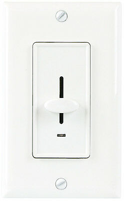 3-Way Decorator Light Dimmer Switch for Incandescent with Green LED Free Cover