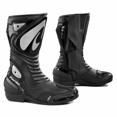 Forma Arrow SX motorcycle boots, mens, black, all sizes, sports, track, touring