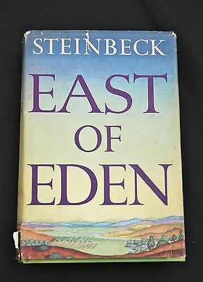 JOHN STEINBECK East of Eden 1st edition, 1st printing in dust jacket 1952