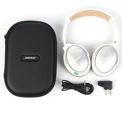 B O S E QuietComfort QC25 Ear-Cup Acoustic Noise Cancelling Headphones white