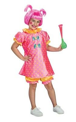 Cute Baby Doll Adorable Clown Child Girls Book Week Fancy Dress Up Kids Costume