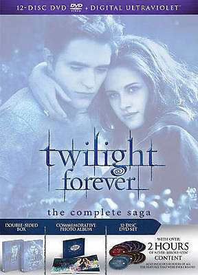 The Twilight Saga Complete Collection ~ BRAND NEW 12-DISC DVD SET + DIGITAL COPY
