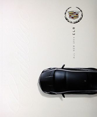 2014 Cadillac ELR coupe new vehicle brochure