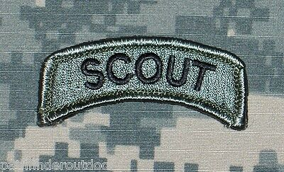 Scout Tab ACU Morale Patch w/ Velcro Free Shipping to the US & APO!!!