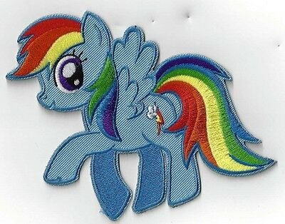 My Little Pony Larger Rainbow Dash Iron On Patch Buy 2 ,we Send 3.