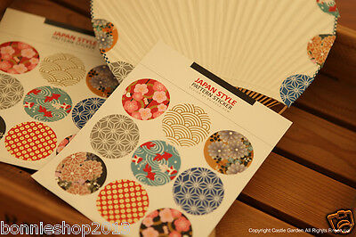 Japan 10 sheets Flower Lace Vintage Retro Paper Stickers for Scrapbooking Decor