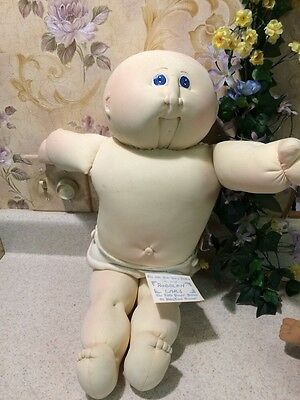 Little People cabbage patch soft sculpture Xavier Roberts signed doll Ears Boy