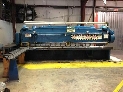 "Cincinnati 16' x 3/8"" Mechanical Plate Shear"