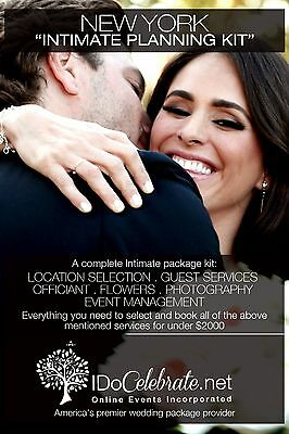 I Do Celebrate New York Wedding Ceremony Kit - Intimate Package