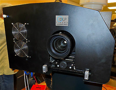 Cinemecannica DCI DLP Digital Cinema Projector with lens & new lamp