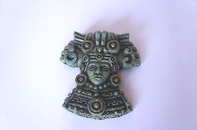 Vintage Aztec Like Pebbled Texture Wall Plaque