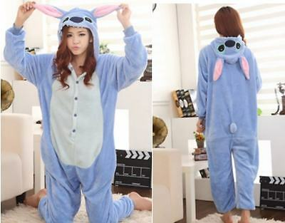 Pigiama animali kigurumi Stitch Cartoon Onesies carnevale feste costume party