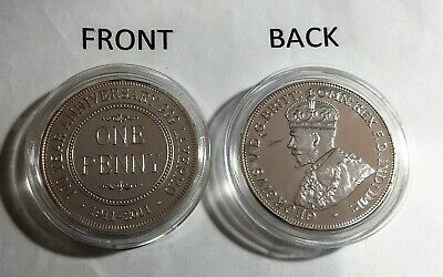 2011 1OZ 100 Year Anniversary Of The Australian Penny Finishd in 999 Fine Silver