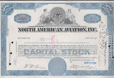 North American Aviation, Inc.* Stock Certificate *