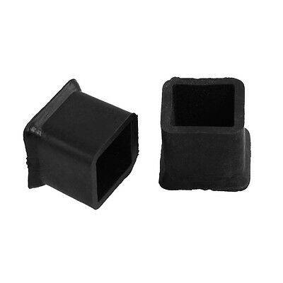 New 10Pcs Furniture Chair Table Leg Rubber Foot Covers Protectors 20mm x 20mm AA