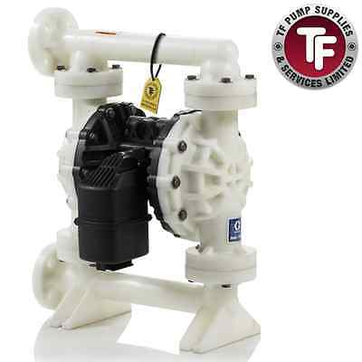 "1.5"" Graco Husky 15120 / AT40/VA40 Air Diaphragm Pump AODD (Poly/Sant)-654500"