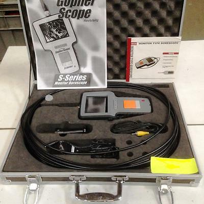 migs boroscope gopherscope s series in case  works great