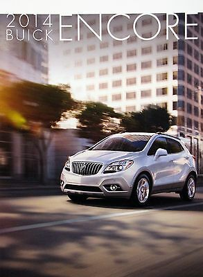 2014 Buick Encore crossover new vehicle brochure