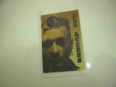 Staind Backstage Pass 2001 Laminate Aaron Lewis