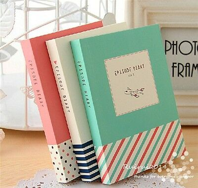 1pc NEW Fresh episode Study Planner Cute Pocket Diary Journal Notebook Notepad