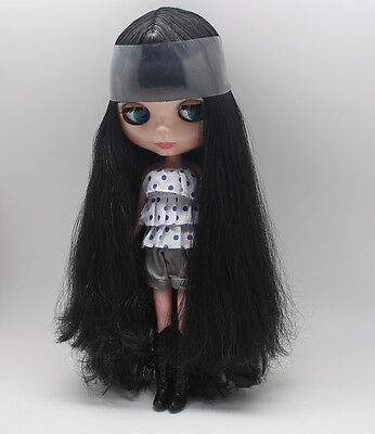 "Takara 12/"" Neo Blythe Nude Doll Black Hair from Factory TBY173"