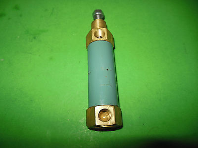 """ARO 0175 1009 010 Cylinder, 1"""" Stroke 3/4"""" Bore, Brass Body (Lot of 2)"""