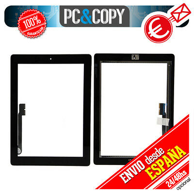 Pantalla Tactil Para Ipad 3 Negra Digitalizador Gen Cristal Touch Screen Recambi