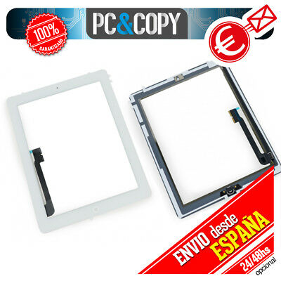 PANTALLA TACTIL PARA IPAD 3 BLANCA DIGITALIZADOR CRISTAL TOUCH SCREEN iPad3 ADHE